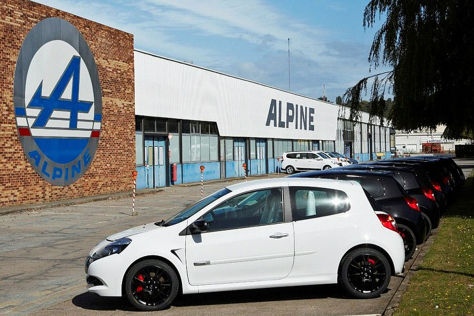 Renault Alpine Werk