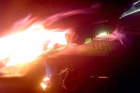 Killer-Kältemittel R1234yf setzt Mercedes B-Klasse in Brand