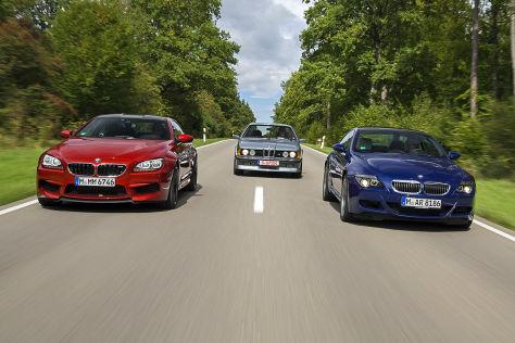 BMW M635 CSi/M6 Coupé :gestern und heute