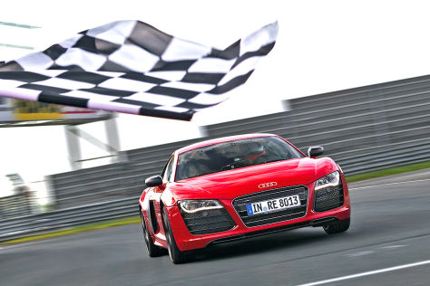 Audi R8 e-tron kommt nicht