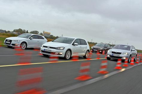 Audi A3 Kia cee'd Skoda Octavia VW Golf