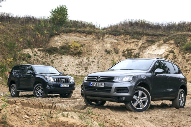 Video: VW Touareg/Toyota Land Cruiser