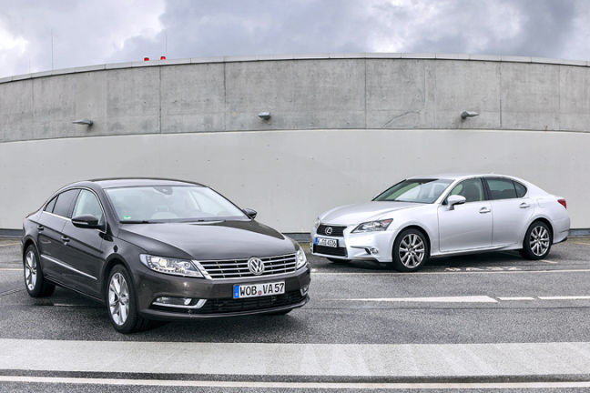Video: VW CC/Lexus GS 250