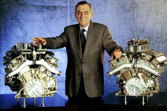 """Nocken-Paules"" legendäre Motoren"