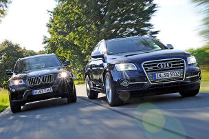 Audi SQ5 TDI/BMW X3 35d: Test