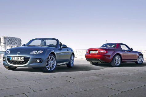 Mazda MX-5: Modellpflege
