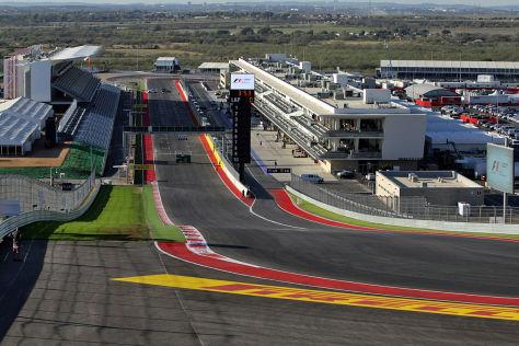 Vorschau Formel 1-Debüt in Austin / USA