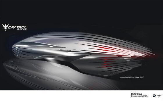 BMW Human-Drone Pursuit Vehicle