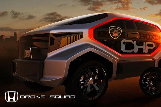 """Honda """"CHP Drohnen-Squad"""""""