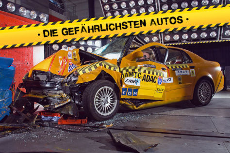 Die gef&auml;hrlichsten Autos