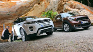 Mini Paceman/Range Rover Evoque: Test