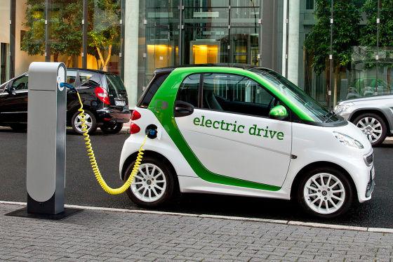 Зарядка электроавтомобиля Smart