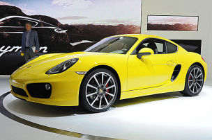 Porsche Cayman: LA Auto Show 2012