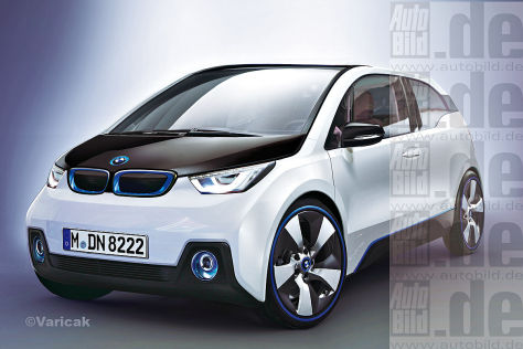 BMW i3 Coupé ILLUSTRATION