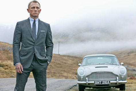 Daniel Craig als James Bond 007 in Skyfall