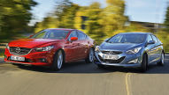 Hyundai i40/Mazda6: Test