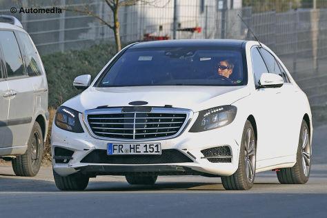 Mercedes-Benz S-Klasse Erlkönig W222 Erprobung Death Valley