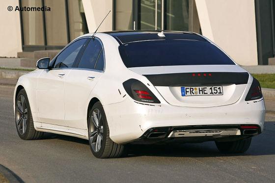 Mercedes S-Klasse Hinten
