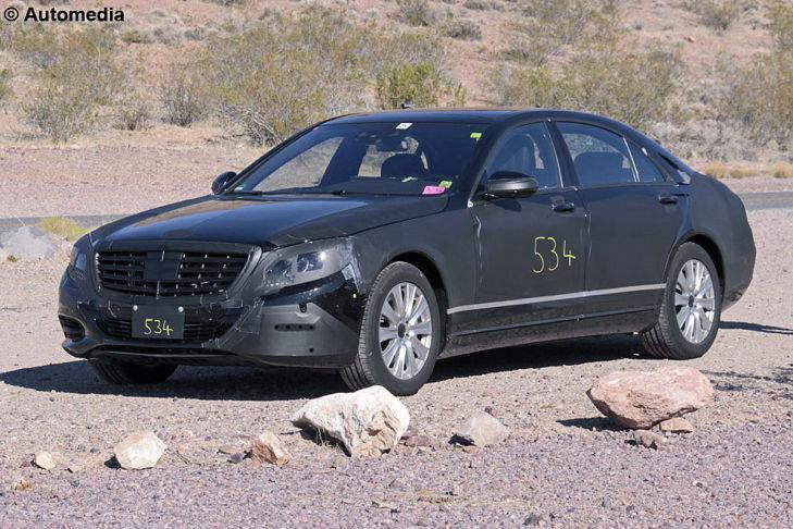 Erlkönig Mercedes S-Klasse W222