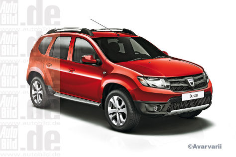 Dacia Duster Facelift ILLUSTRATION