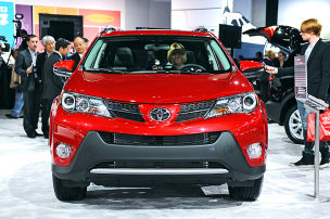 Toyota RAV4: Los Angeles Auto Show 2012