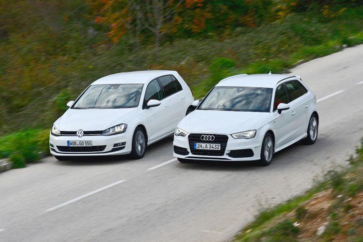 Audi A3 Sportback VW Golf