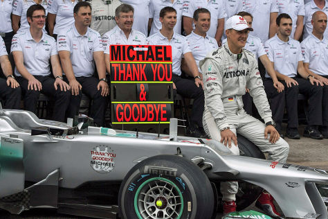 Michael Schumacher: Abschied von der Formel 1