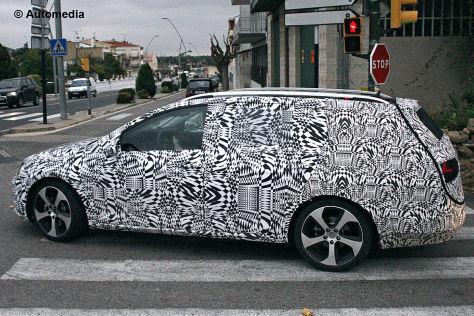 Erlkönig VW Golf VII Variant
