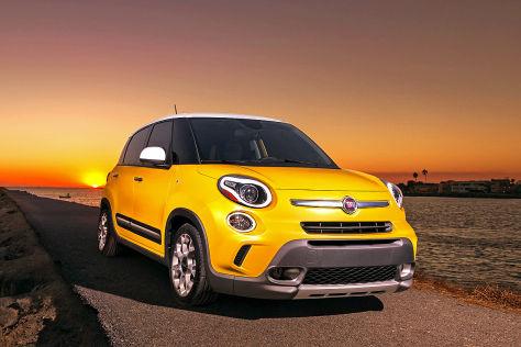 LA Auto Show 2012: Fiat 500L Trekking