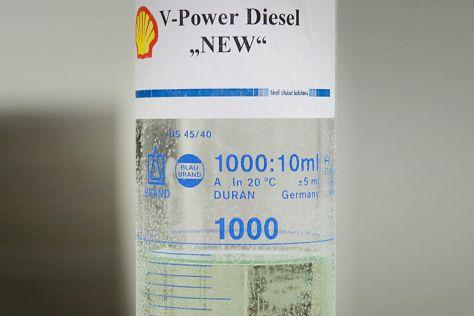 Winter-Diesel von Shell