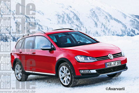 VW Golf VII Variant Alltrack (Illustration)