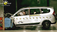 Euro NCAP Crashtest November 2012