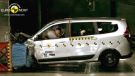 Dacia Lodgy: Euro NCAP Crashtest