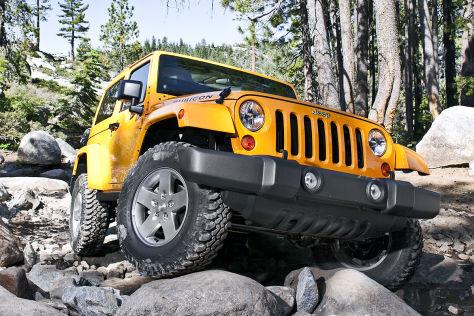 Jeep Wrangler Rubicon: LA Auto Show 2012