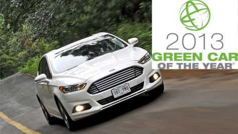 Ford Fusion: Green Car of the Year 2013