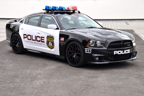 dodge charger srt8 von geigercars im polizei look. Black Bedroom Furniture Sets. Home Design Ideas