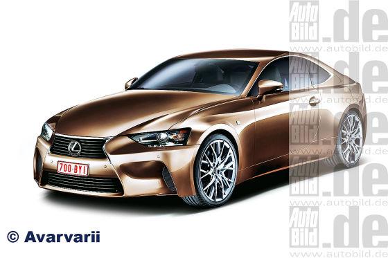 Lexus IS Coupé II (Illustration)