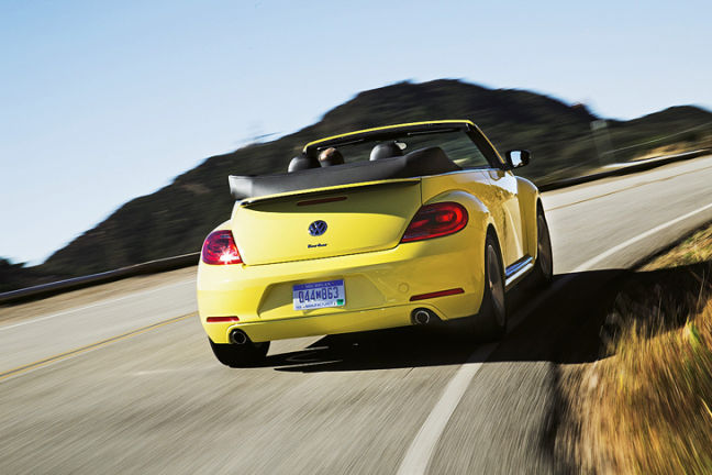 Video: VW Beetle Cabriolet
