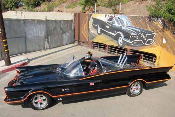 1966er Batmobil wird versteigert