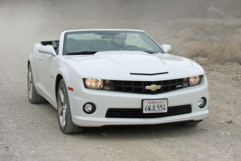Chevrolet Camaro SS Cabrio: Roadtrip