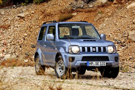 Suzuki Jimny Fahrbericht