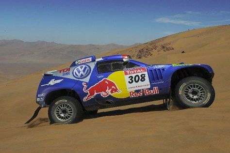 Die Dakar stellte Volkswagen vor völlig andere Herausforderungen als die WRC