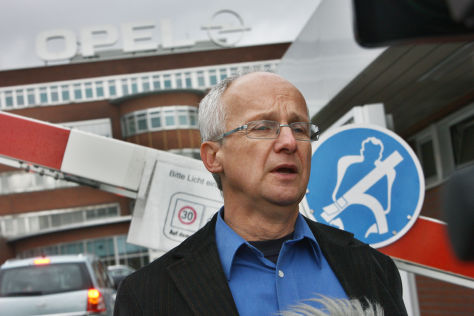 Rainer Einenkel (Betriebsratsvorsitzender Opelwerk Bochum)