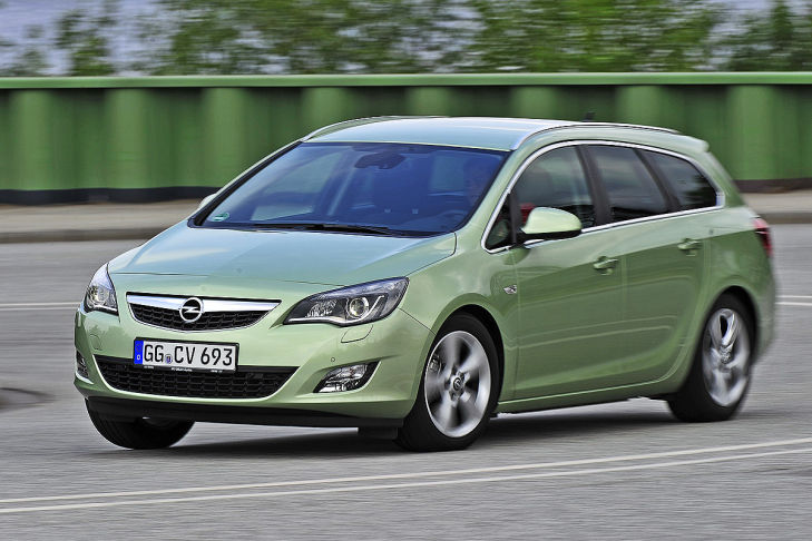 Opel Werk Ellesmere Port Astra Sports Tourer Kombi