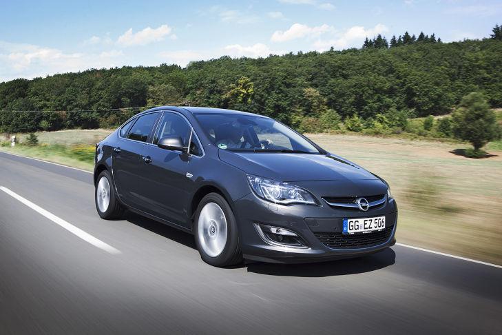 Opel Werk Rüsselsheim Astra Fünftürer