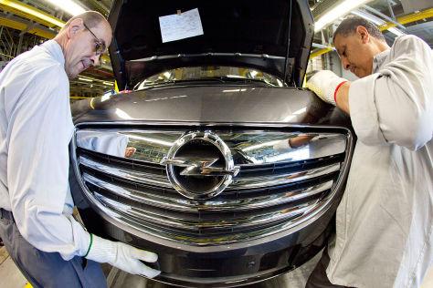 Opel-Produktion international