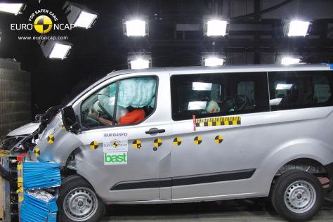 Ford Transit Custom Euro NCAP-Crashtest Dezember 2012