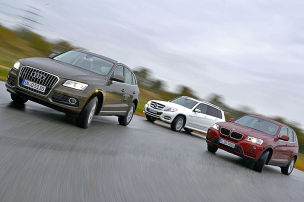 Audi Q5/BMW X3/Mercedes GLK: Test