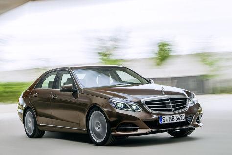 Mercedes E-Klasse (2013): Erste Bilder