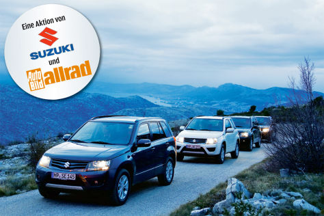 Partneraktion: Suzuki Xpedition 2012